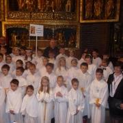 2016 - Pielgrzymka dzieci do katedry