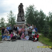 2011 - Zakończenie roku szkolnego - chórek Droga do Nazaretu - szkolny wolontariat, pielgrzymka na Lednicę pod opieką ks. Macieja