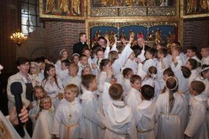 2015 - Pielgrzymka dzieci do katedry