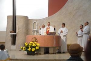 2015 - Pierwsza Msza. Św. z Nowenną w Intencji Rodzin