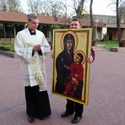 Symbole ŚDM w parafii