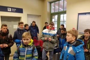 Wyjazd zimowy ministrantów do Rabki