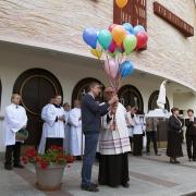 25 kolorowych balonów na 25 rocznicę poświęcenia naszej świątyni.