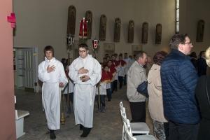 Bierzmowanie 2017 - sakramentu udziela ks.Bp.Zdzisław Fortuniak.