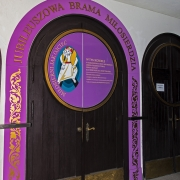 Uroczystość zamknięcia Bramy Miłosiedzia.