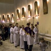 Droga Krzyżowa z udziałem muzyków z Apostolatu Józefa i Maryji.
