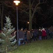 Droga Krzyżowa w Parku ks.Jasińskiego.