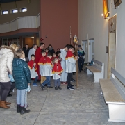 Droga Krzyżowa z udziałem dzieci.