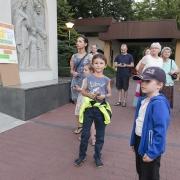 Festyn parafialny - 2019 r. Apel Jasnogórski.