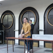 Festyn parafialny - 2019 r. Losowanie nagród.