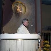 Powitanie Ks. Jacka Maćkowiaka w naszej świątyni.