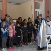 Poświęcenie różańców dzieci I-szo Komunijnych.