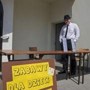 Majówka parafialna - 21 maj 2017r. - stoisko loterii.