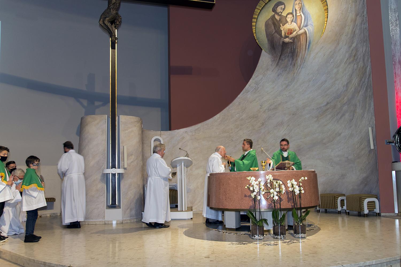 Msza Święta w intencji nadzwyczajnych szafarzy Komunii Świętej.