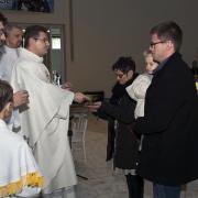 Msza św. za Ojczyznę - Dary Ołtarza.
