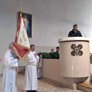 Msza św. pogrzebowa w intencji wieloletniego szafarza śp. Jerzego Staniewskiego.