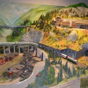 Półkolonie zimowe 2016 - Makieta kolejowa