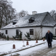 Grabonóg - klasycystyczny dwór z ok.1800 roku w którym znajduje się muzeum poświęcone bł.Edmundowi Bojanowskiemu i jego czasom.
