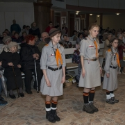 Harcerska straż Grobu Pańskiego.