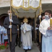 Procesja z Eucharystią do pozostałych ołtarzy.