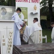 Modlitwa i rozważania przy III ołtarzu.