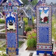 Sapanta - Wesoły cmentarz.