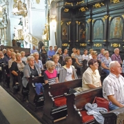 BOCHNIA - msza św. w sanktuarium MB Różańcowej.
