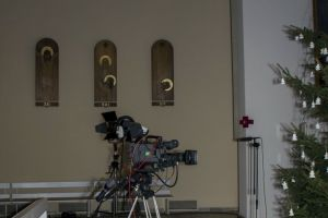 2015 - Suma Odpustowa - Przygotowanie TV i celebransów do Eucharystii