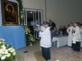 Pożegnanie kopii Obrazu Matki Bożej Częstochowskiej i Akt oddania parafii Św. Rodziny Matce Bożej.