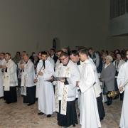 Akt oddania parafii Św. Rodziny Matce Bożej.