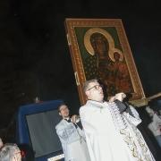 Pożegnanie kopii Obrazu Matki Bożej Częstochowskiej.