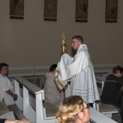 Wigilia Zesłania Ducha Świętego - uroczyste błogosławieństwo.